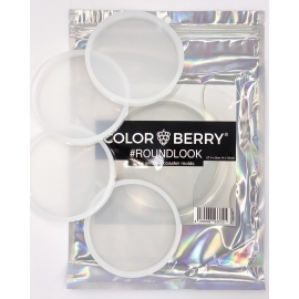 COLORBERRY SET OF 2 - ROUND SILICONE MOLDS