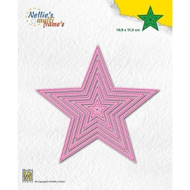 MULTI FRAME DIES - 5 POINT STARS