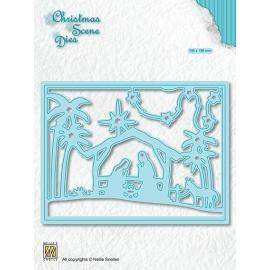 CHRISTMAS SCENE DIES - A CHILD IS BORN