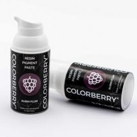 COLORBERRY RESIN PIGMENT PASTE - RUBIN PLUM - 30ML