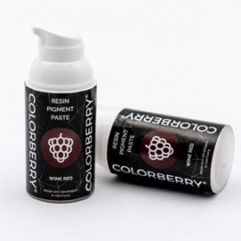 COLORBERRY RESIN PIGMENT PASTE - WINE RED - 30ML