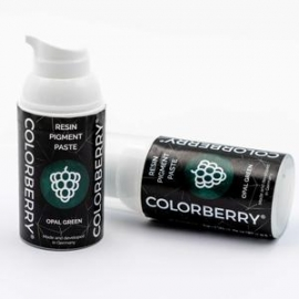 COLORBERRY RESIN PIGMENT PASTE - OPAL GREEN - 30ML