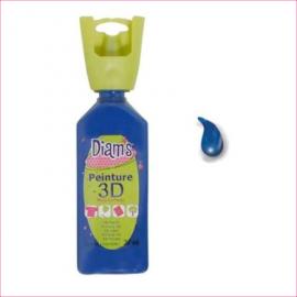 DIAMS 3D - GLOSS - BLEU MARINE