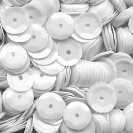 Meyco White Sequins