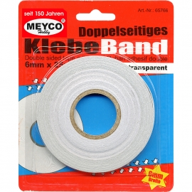 Meyco - Double Sided Tape 6mmx25m