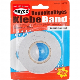 Meyco - Double Sided Tape 18mmx15m