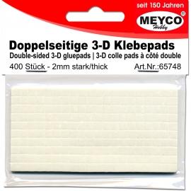 Meyco - Double-Sided 3D Gluepads