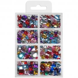 Meyco - Acrylic Stone Beads Set