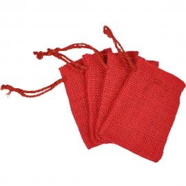 Meyco - Jute Bag - Red