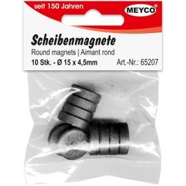 Meyco - Round Magnets - 15x4.5mm