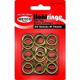 Meyco - Tube Rings - Gold (16mm)