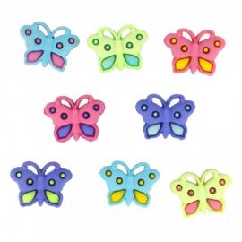 Dress It Up Buttons - Button Fun Butterflies