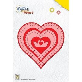 Nellie's - Multi Frame Dies - Heart