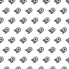 Nellie's - Background Embossing Folders - Flowers 2