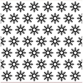 Nellie's - Background Embossing Folders - Snowflakes
