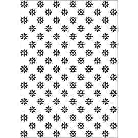Nellie's - Embossing Folder - Flowers