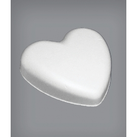 Polystyrene Flat Heart - 150mm