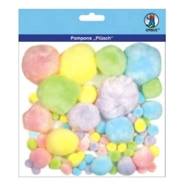 Pom Poms - Different Colours & Sizes