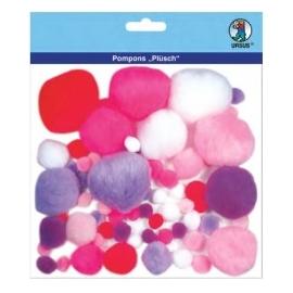 Pom Poms - Different Colours & Sizes