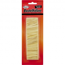 Wooden Match Sticks - 43x2x2mm