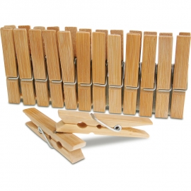 Bamboo Pegs - 65x10mm