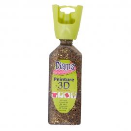 DIAMS 3D - GLITTER - NOUGATINE