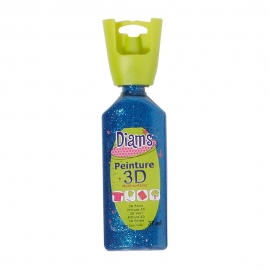 DIAMS 3D - GLITTER - BLUE NUIT
