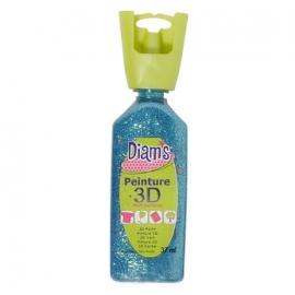 DIAMS 3D - GLITTER - TURQUOISE