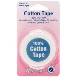 Hemline - Cotton Tape - 25mm