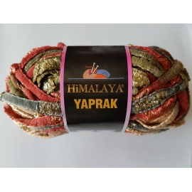 Himalaya Yaprak - Knitting Yarn - Wyne/Green