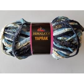 Himalaya Yaprak - Knitting Yarn - Light Blue/Navy Blue