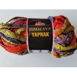 Himalaya Yaprak - Knitting Yarn - Orange/Red/Green