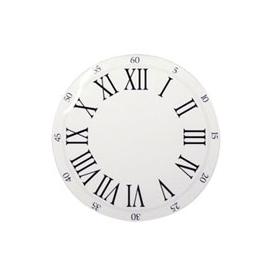 Clock Face w/Roman Letters - 11cm
