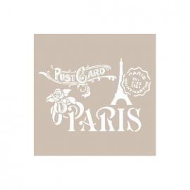 A4 STENCIL - PARIS