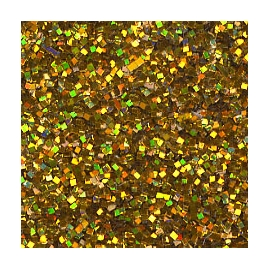 DIAMOND GLITTER 40GRM - GOLD HOLOGRAM