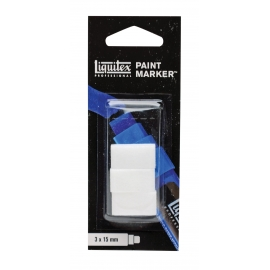 PAINT MARKER - BLISTER OF 3 WIDE NIBS