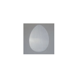 CLEAR PERSPEX OVAL DISC - 100MM