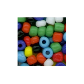 COLOURFUL GLASS BEADS - 2.5MM