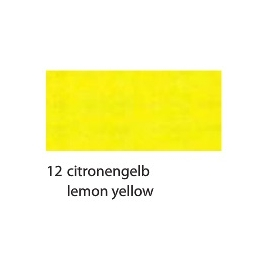 CREPE PAPER 250 X 50CM - LEMON YELLOW