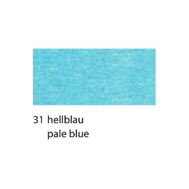 CREPE PAPER 250 X 50CM - PALE BLUE