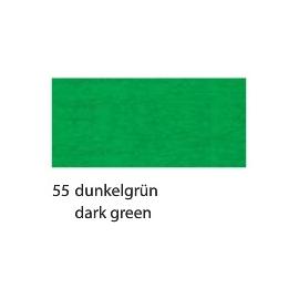 CREPE PAPER 250 X 50CM - DARK GREEN