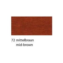 CREPE PAPER 250 X 50CM - MID-BROWN