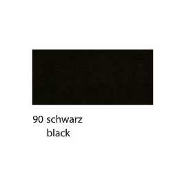 CREPE PAPER 250 X 50CM - BLACK