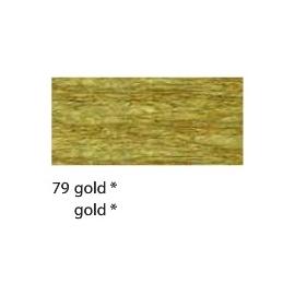 CREPE PAPER 250 X 50CM - GOLD