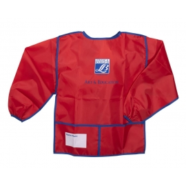 PLASTIC APRON WITH LONG SLEEVES - KID