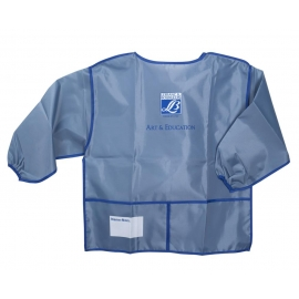 PLASTIC APRON WITH LONG SLEEVES - JUNIOR