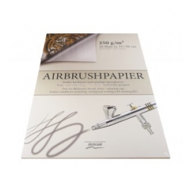 AIRBRUSH PAINTING SHEETS 250G - 35X50CM