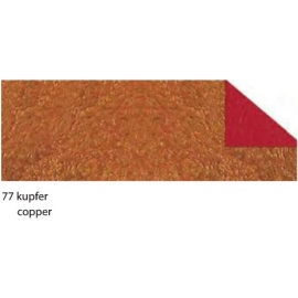 21X33CM CRUSH PAPER 120G - COPPER