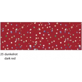 22X33CM DIAMOND CARDBOARD 300G - DARK RED