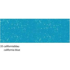 23X33CM FLITTER CARDBOARD 220G - CALIFORNIA BLUE